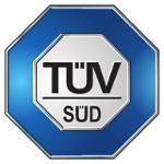 leichtbauhallen tuv sud logo